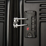 Canadian Tourister Coastal Spinner Large Exp in the color Black.