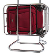 American Tourister Meridian 360 Spinner Carry-On in the color Ruby Red.