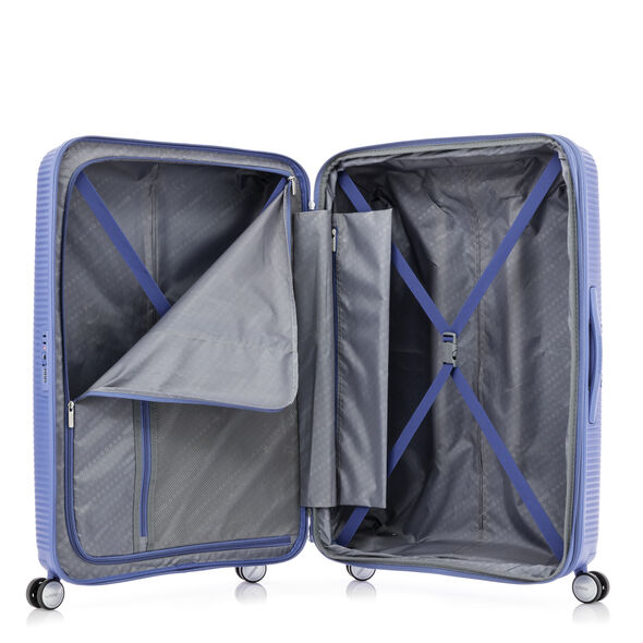 American Tourister Curio Spinner Large in the color Denim Blue.