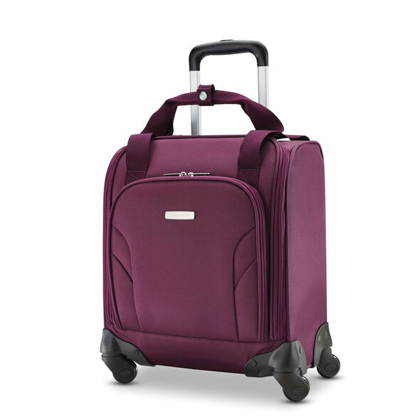 Samsonite Spinner Underseater with USB Port in the color Purple.