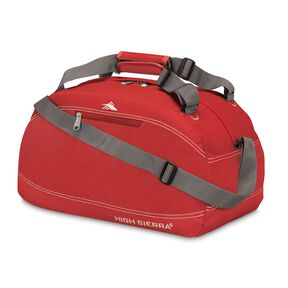 "High Sierra Duffels 20"" Pack-N-Go Duffel in the color Carmine Red."