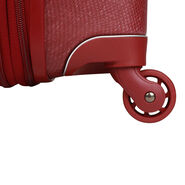 Lipault Chic & Plume Spinner 66/24 in the color Ruby.