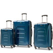 Samsonite Winfield 3 Fashion 3 Piece Set in the color Teal (Brushed).