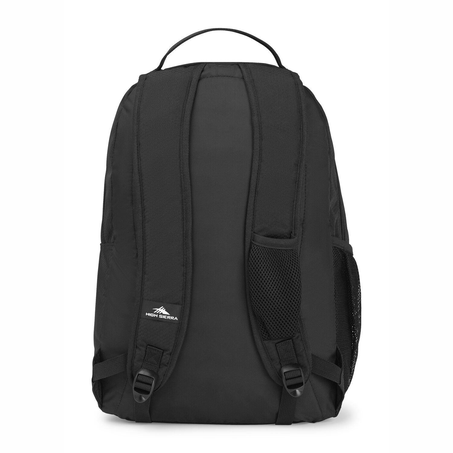 e4f523011 High Sierra Curve Backpack in the color Black/Black.