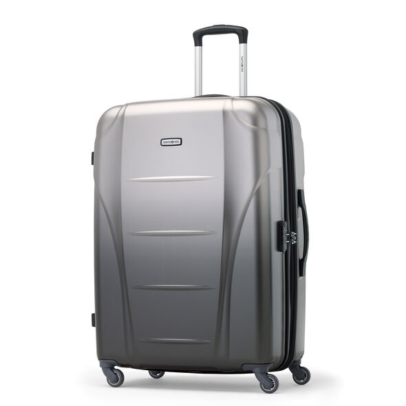 Samsonite Winfield NXT Spinner 3 Piece Set (CO/Med/Lrg) in the color Silver/Charcoal.