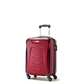 Samsonite Winfield 3 Spinner Carry-On Widebody in the color Dark Red.