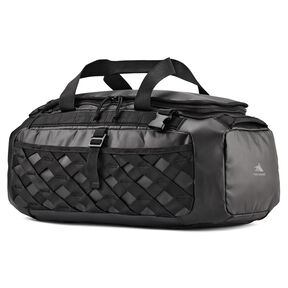 High Sierra OTC Convertible Duffle Backpack in the color Black/Black/Black.