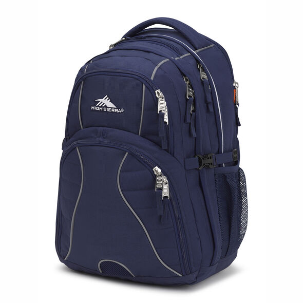 High Sierra Swerve Backpack in the color True Navy.