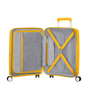 American Tourister Curio Spinner Large in the color Golden Yellow.