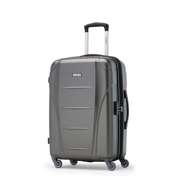 Samsonite Winfield NXT Spinner Medium in the color Charcoal.