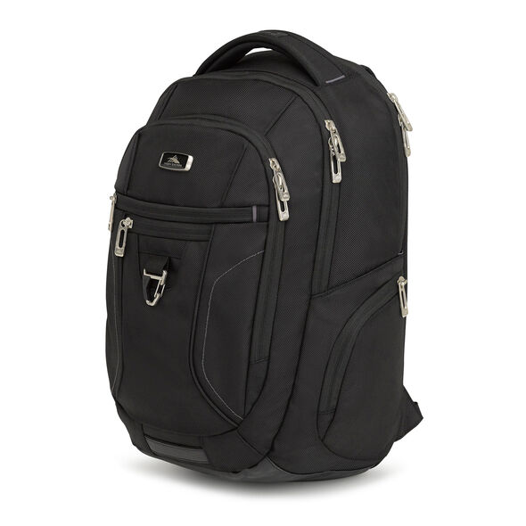 High Sierra Endeavor Essential Backpack in the color Black.
