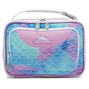 High Sierra Single Compartment Lunch Bag in the color Rainbow Scales.