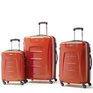 Samsonite Winfield 3 Fashion 3 Piece Set in the color Orange Brushed.