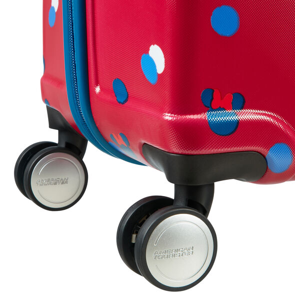 American Tourister Wavebreaker-Disney Spinner Large in the color Minnie Loves Mickey.