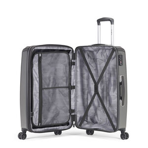 Samsonite Pursuit DLX Plus Spinner Large in the color Charcoal.