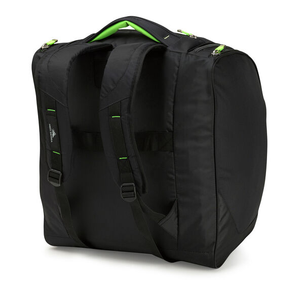 High Sierra Deluxe Trapezoid Boot Bag in the color Black Zest.