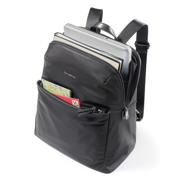 "Samsonite Rosaline Business Backpack (14"") in the color Black."