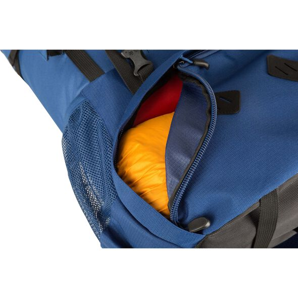 High Sierra Tokopah 55L Pack in the color Raven/Black/Zest.
