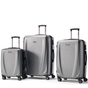 Samsonite Pursuit DLX 3 Piece Set in the color Silver.