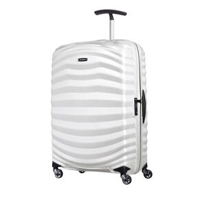 Samsonite Lite-Shock Spinner Carry-On in the color Off White.