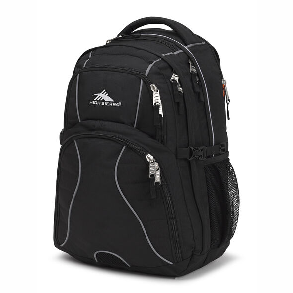 3b9c623371 High Sierra Swerve Backpack in the color Black.