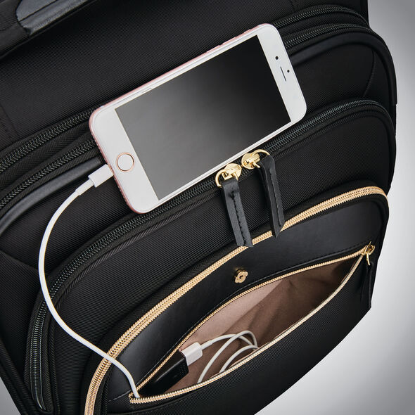 Samsonite Mobile Solution Expandable Spinner Carry-On in the color Black.