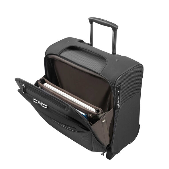 Samsonite B-Lite Icon Rolling Tote in the color Black.