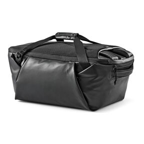 High Sierra Rossby Convertible Duffle in the color Black/Black.