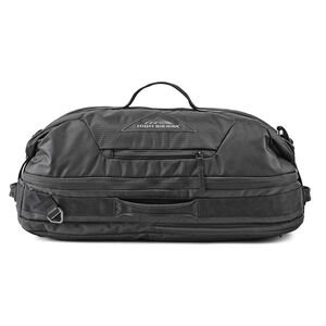 High Sierra Dells Canyon Convertible Duffle Backpack in the color Black/Black.
