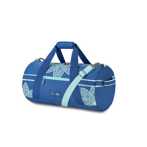 Life Is Good by High Sierra Cargo Duffle Mandala in the color Vintage Blue/Bermuda Blue Mandala.