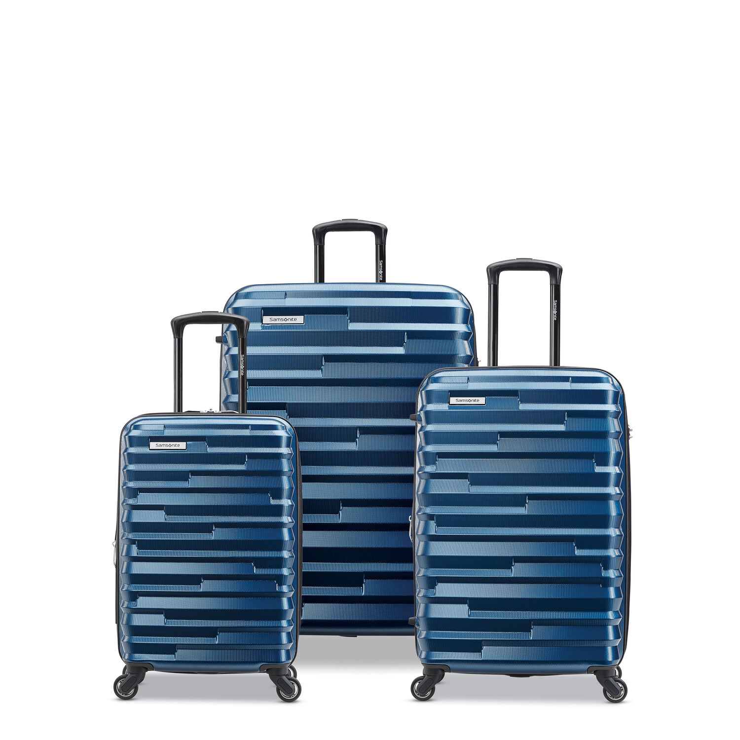 Samsonite Ziplite 4 3 Piece Set (CO/Med/Lrg) in the color Lagoon.