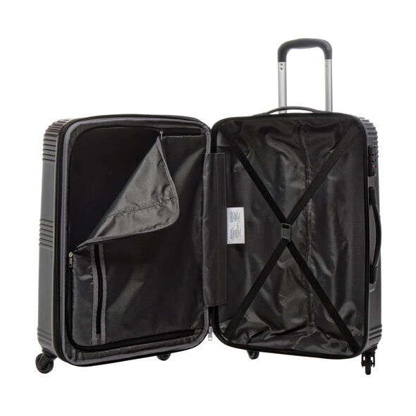 Canadian Tourister Coastal Spinner Large in the color Black.