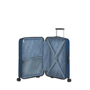American Tourister Airconic Spinner Medium in the color Midnight Navy.