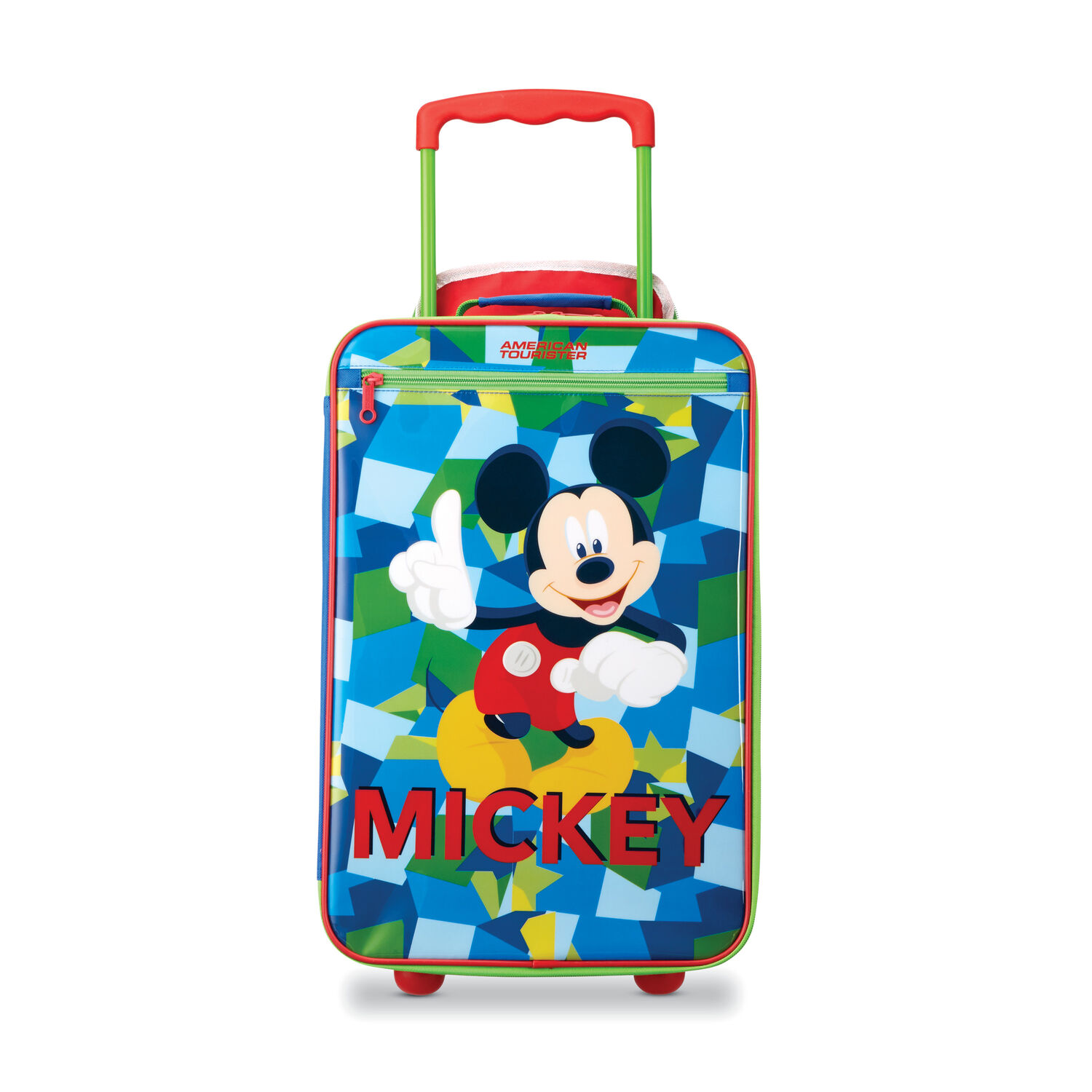 """fc0406015 American Tourister Disney Kids 18"""" Softside Upright in the color ..."""