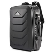 High Sierra OTC Carry-On Weekender Backpack in the color Black/Black/Black.