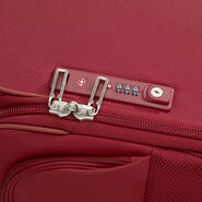 Samsonite B-Lite Icon Spinner Carry-On Widebody in the color Ruby Red.