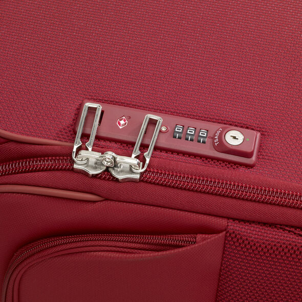 Samsonite B-Lite Icon Spinner Medium in the color Ruby Red.