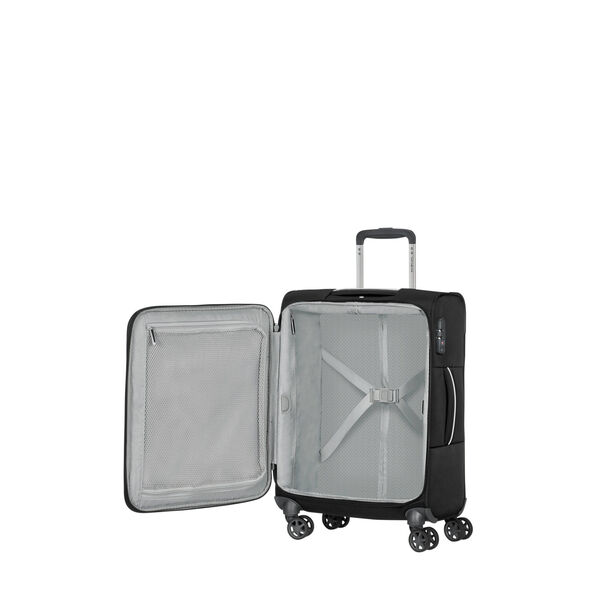 Samsonite Popsoda Spinner Carry-On in the color Black.