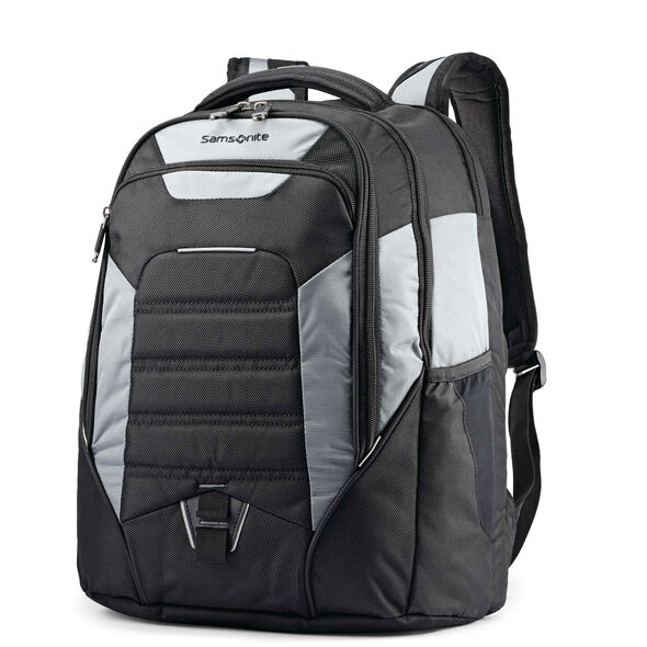 Samsonite UBX Commuter Backpack in the color Black/Graphite.