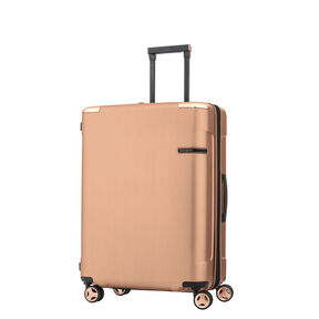Samsonite Evoa Spinner Medium in the color Rose Gold.