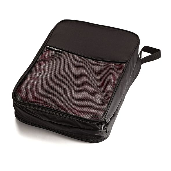 Samsonite Packing Cubes 2 Sided Packing Cube (M) in the color Black.