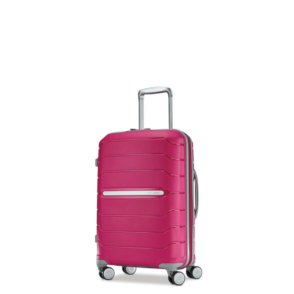 Samsonite Freeform Spinner Carry-On in the color Pink.