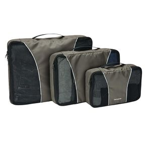 Samsonite Packing Cubes 3PC Set in the color Charcoal.