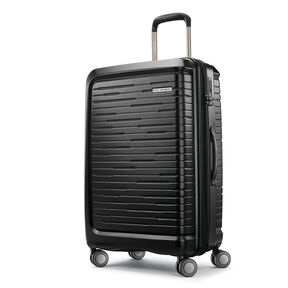 Samsonite Silhouette 16 Spinner Medium in the color Obsidian Black.
