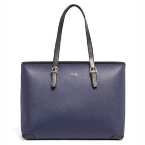 Lipault Variation Shopper in the color Navy/Black.