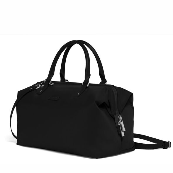 Lipault Lady Plume FL Bowling Bag M in the color Black.