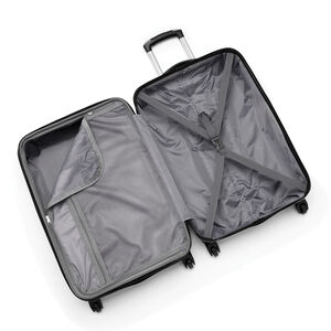 Canadian Tourister Collection Spinner Carry-On in the color Maple Leaf Black.