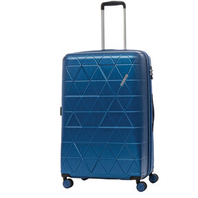 American Tourister Edge Spinner Large Exp in the color Midnight Navy.