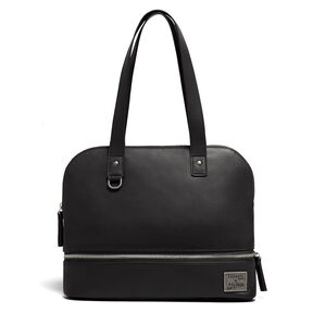 Lipault Jean Paul Gaultier Swing Shopper Bag in the color Black.