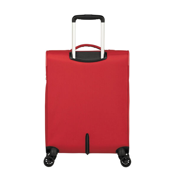 American Tourister Fly Light Spinner Carry-On in the color Red.